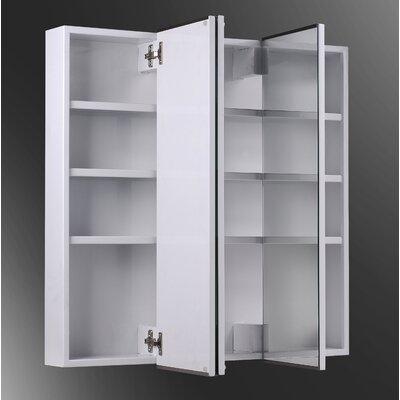 Ketcham Medicine Cabinets Tri View 30 Quot X 36 Quot Surface Mount