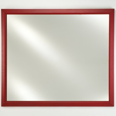 Signature Surface Mount Plain Wall Mirror by Afina