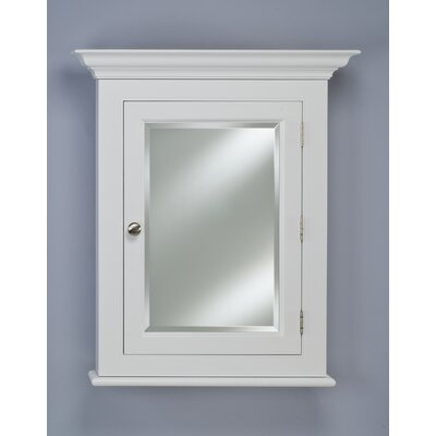 "Wilshire II 25.75"" x 30.13"" Semi Recessed Medicine Cabinet Product Photo"