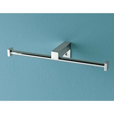 Toscanaluce by Nameeks Eden Wall Mounted Double Toilet Roll Holder