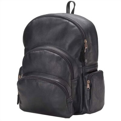Vachetta Multi-Pocket Backpack by Clava Leather