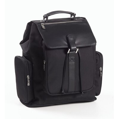 Canvas and Leather Backpack by Clava Leather