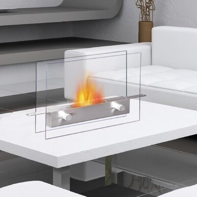 Metropolitan Tabletop Bio Ethanol Fireplace by Anywhere Fireplaces