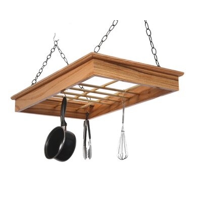 Hanging Pot and Pan Rack by Laurel Highlands Woodshop