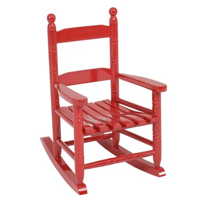 Knollwood Children's Rocking Chair in Red by Jack-Post