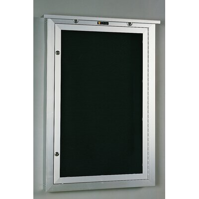 Claridge Products No. 548 Outdoor Changeable Letter Directory Wall Mounted Letter Board