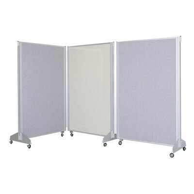 Claridge Products Premiere Portable Panelling System Free-Standing Chalkboard