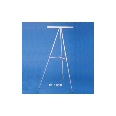 Claridge Products No. 172E/B Display Easel with Optional Flipchart Clamp