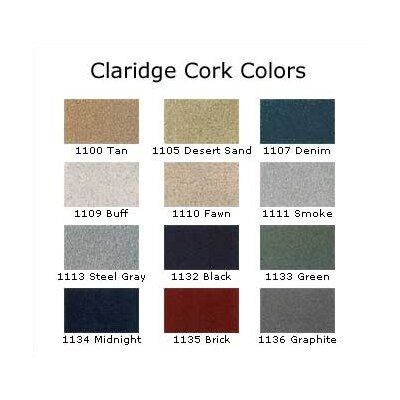 "Claridge Products Large Contemporary Series (3"" Housing) Wall Mounted Bulletin Board with Cork"