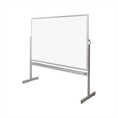 Claridge Products Premiere Free Standing Reversible Whiteboard, 3' x 4'