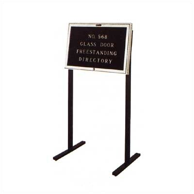 Claridge Products No. 568 Freestanding Directory Letter Board, 2' x 3'