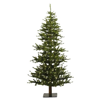 Vickerman Co. Minnesota Pine 6' Green Artificial Half Christmas Tree