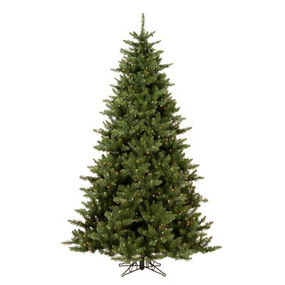 Vickerman Co. Camdon Fir 5.5' Green Artificial Christmas Tree with 450 Clear Lights with Stand