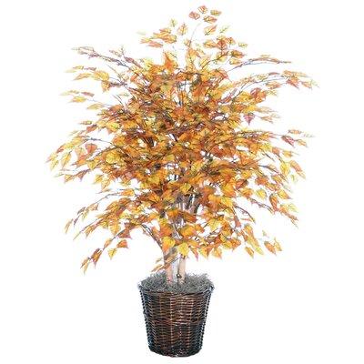 Vickerman Co. Blue Golden Birch Tree in Basket