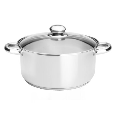 Kinetic Classicor 5-1/2-Quart Stainless Steel Dutch Oven with Lid