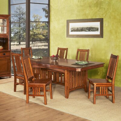GS Furniture Arts and Crafts Pasadena Extendable Dining Table