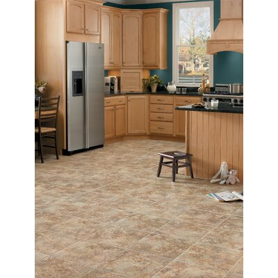 "Congoleum DuraCeramic Rapolano 16"" x 16"" x 4.06mm Luxury Vinyl Tile in Desert Chimney"