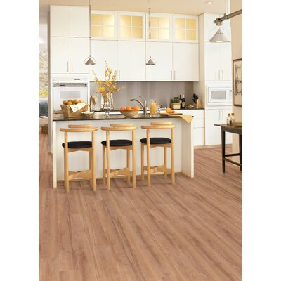 """Congoleum Connections 6"""" x 48"""" x 2mm Luxury Vinyl Plank in Sunset"""