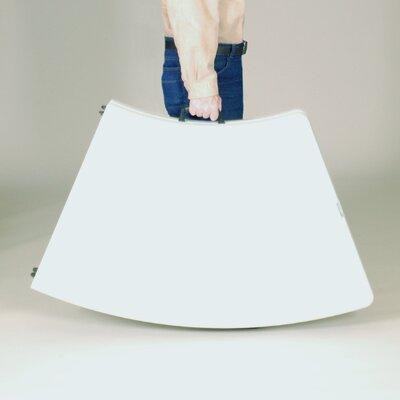 "Correll, Inc. 96"" Semi Circle Folding Table"