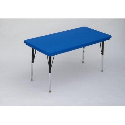 "Correll, Inc. 72"" x 30"" Rectangular Classroom Table"