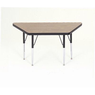 "Correll, Inc. 48"" x 24"" Trapezoidal Classroom Table"