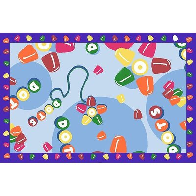 Fun Rugs Tootsie Roll Dots Area Rug