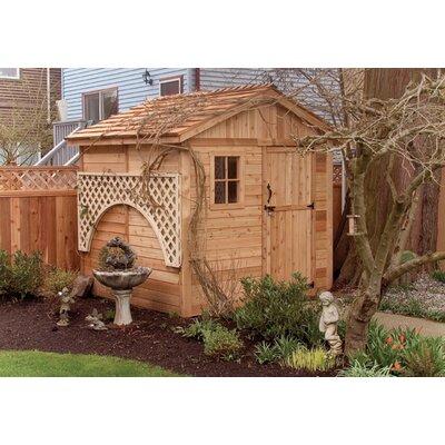 Outdoor Living Today Gardenerft 8 Ft. W x 8 Ft. D Wood Garden Shed