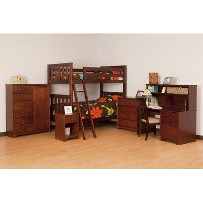 Canwood Furniture Alpine II Twin Slat Bed