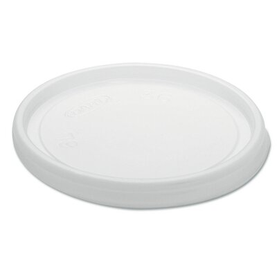 DART® Non-Vented Plastic Cup & Food Container Lids (Carton of 1,000)