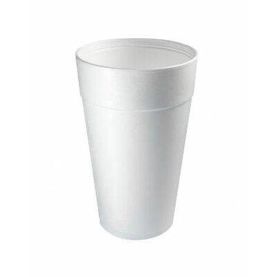 DART® 32 Oz Hot / Cold Foam Cups 25 / Bag in White