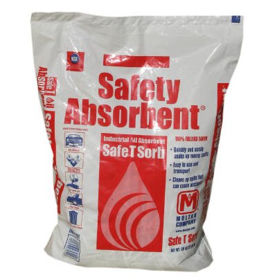 SAFE T SORB™ Clay Absorbent, 50 lbs., Poly-Bag