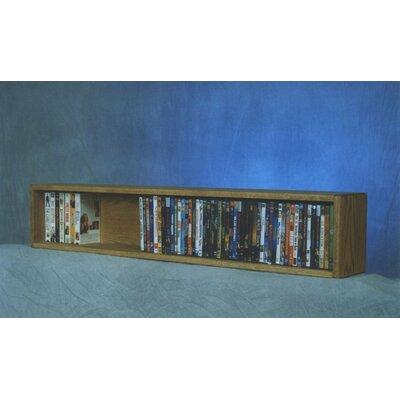 Wood Shed 100 Series 88 DVD Multimedia Tabletop Storage Rack