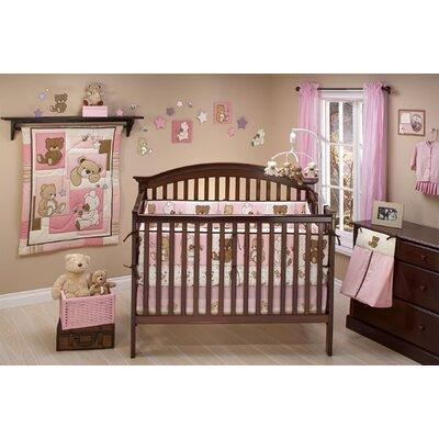 Dreamland Teddy 10 Piece Crib Bedding Set by Little Bedding