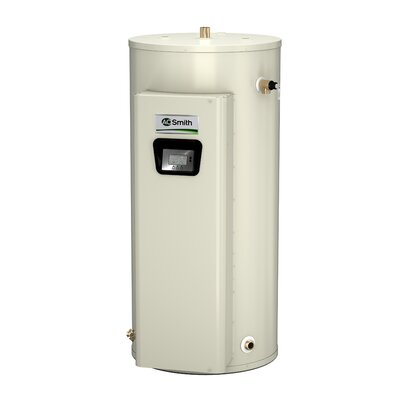 A.O. Smith DVE-52-9 Commercial Tank Type Water Heater Electric 52 Gal Gold Xi Series 9KW Input