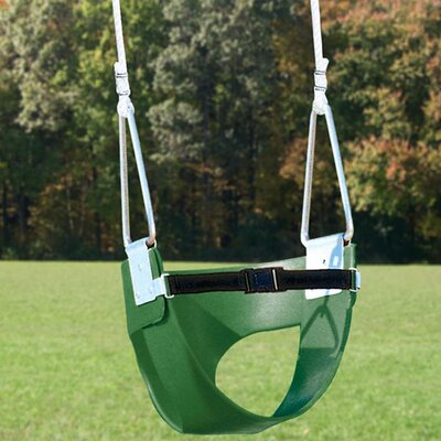 Playtime Swing Sets Belted Toddler Swing with Rope