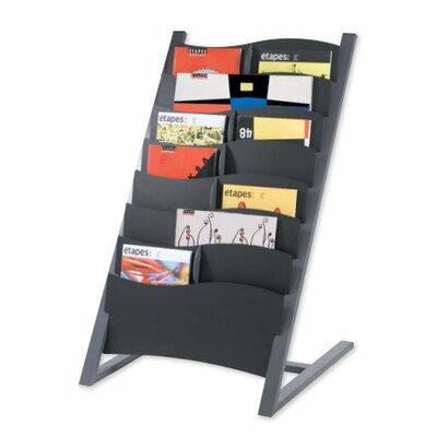 Paperflow 14 Pocket Floor Literature Display