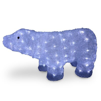 Acrylic Bear Christmas Decoration by National Tree Co.