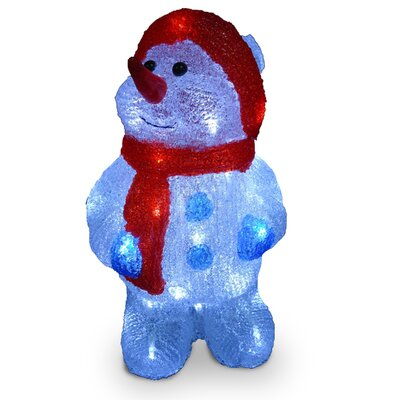 Acrylic Snowman Christmas Decoration by National Tree Co.
