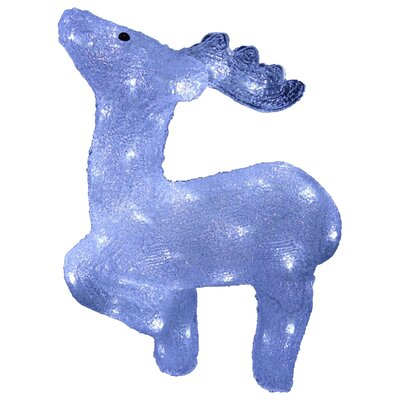 Acrylic Prancing Reindeer Christmas Decoration by National Tree Co.