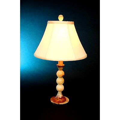 """Lex Lighting Chartreuse 22.25"""" H Table Lamp with Bell Shade"""