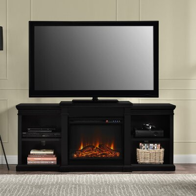 Manchester TV Stand with Electric Fireplace by Altra