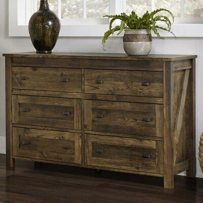 Farmington 6 Drawer Dresser by Altra