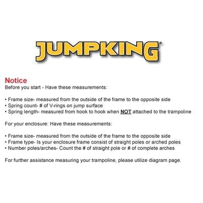 Jumpking 12' Heavy Duty Trampoline Pad