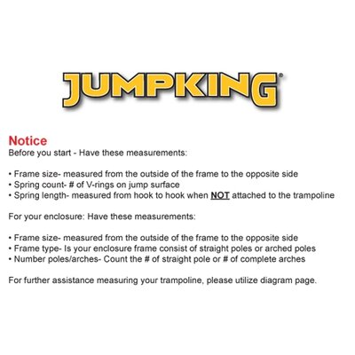 Jumpking 15' Combo Trampoline Pad