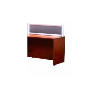 Boss Office Products Reception Desk Return