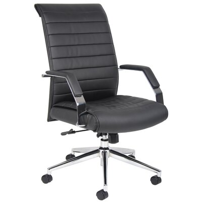 Boss Office Products Caressoft Plus Adjustable High-Back Office Chair
