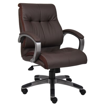 Boss Office Products Mid-Back Double Plush Conference Chair