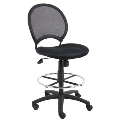 Boss Office Products Height Adjustable Drafting Stool