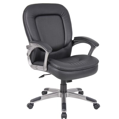 Boss Office Products Conference Chair with Padded Armrests
