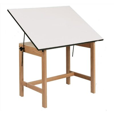 Alvin and Co. Titan Melamine Drafting Table